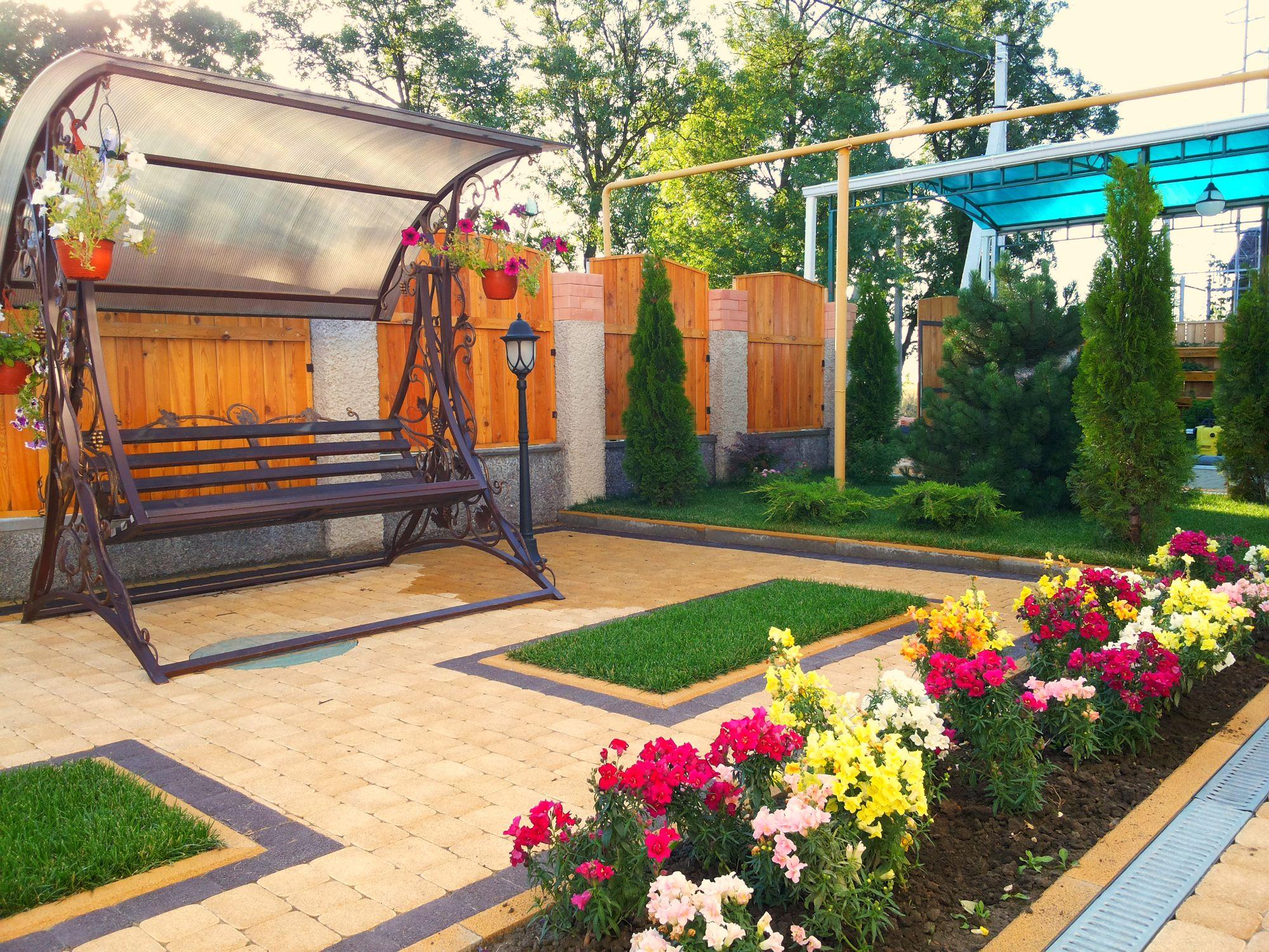 Дизайн садовый участок своими руками фото 73